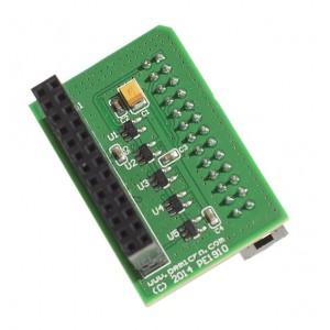 Adaptateur de câble ribbon synchrone 26-pin ColdFire
