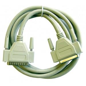 Câble extension M/F DB-25 6-Ft.