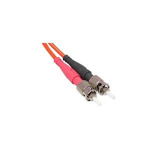 Câble fibre optique duplex, 2 m - ST