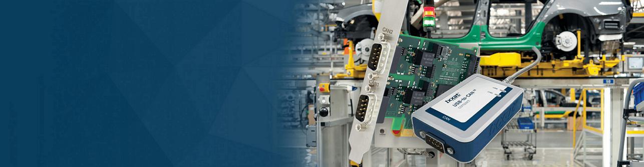 Large gamme de produits pour CAN, CAN FD, Ethernet Industriel et  Safety